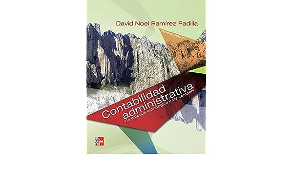 CONTABILIDAD ADMINISTRATIVA DAVID NOEL RAMIREZ PADILLA 8VA EDICION PDF