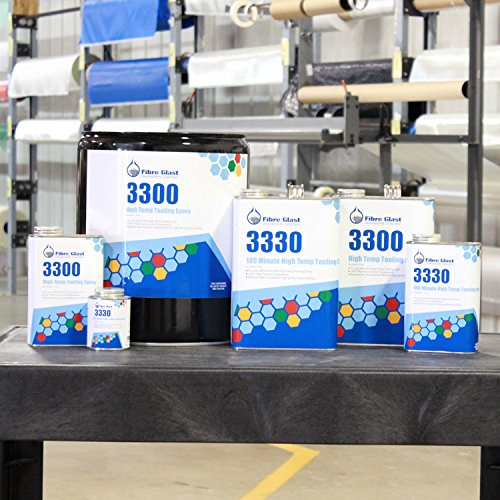 Fibre Glast System 3300 High Temp Tooling Epoxy - Gallon Kit
