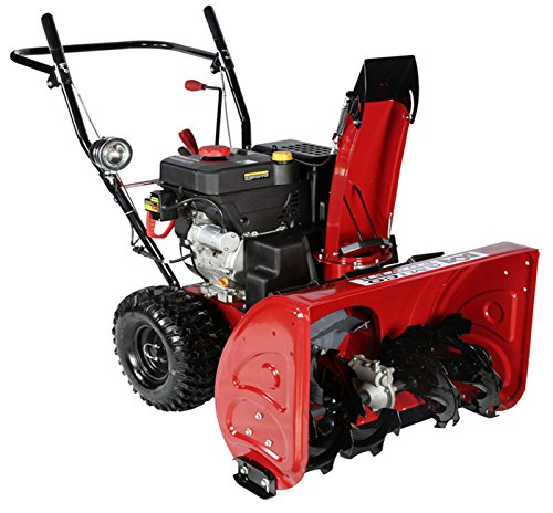 Best Electric Start Snow Blower : Inch cc two stage electric start gas snow blower