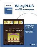 Fundamentals of Heat and Mass Transfer, 8e WileyPLUS Registration Card + Loose-leaf Print Companion