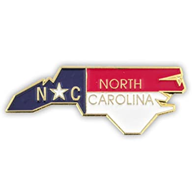 Amazon Pinmart State Shape Of North Carolina And North Carolina