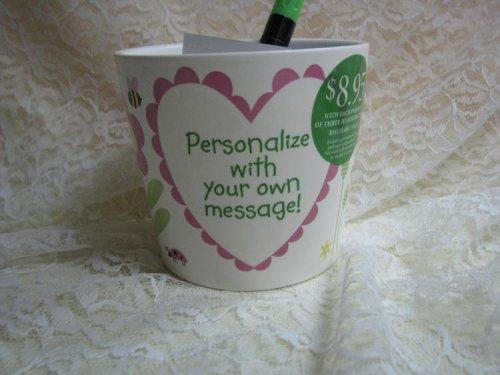 Hallmark LPR1603 Personalized Flowerpot - Personalized Flower Pots