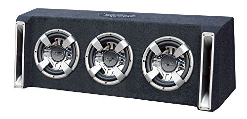 Lanzar VCHB310 Vector 3000-Watt Triple 10-Inch Slim-Designed Bass Box Enclosure
