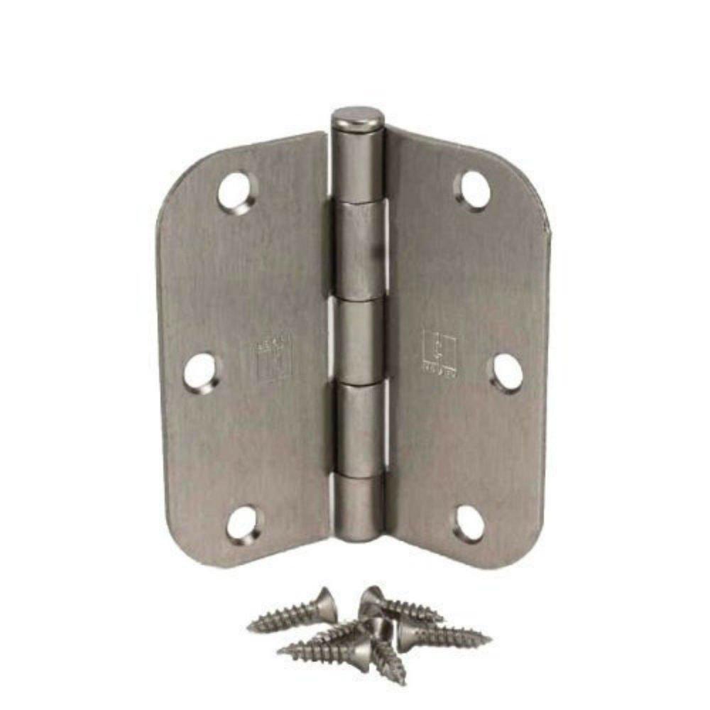 Hager 35088WS Satin Nickel Door Hinges with