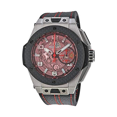 Hublot Big Bang Ferrari Chronograph Skeleton Dial Mens Watch 401.NQ.0123.VR ()