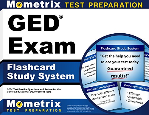 GED Exam Flashcard Study System: GED Test Practice Questions & Review for the General Educational Development Test ()