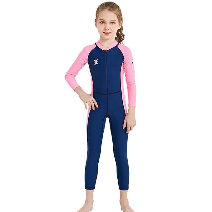93f2e3a87a07 Lefu Niños Traje de Baño Pantalones Manga Larga Protección Solar ...