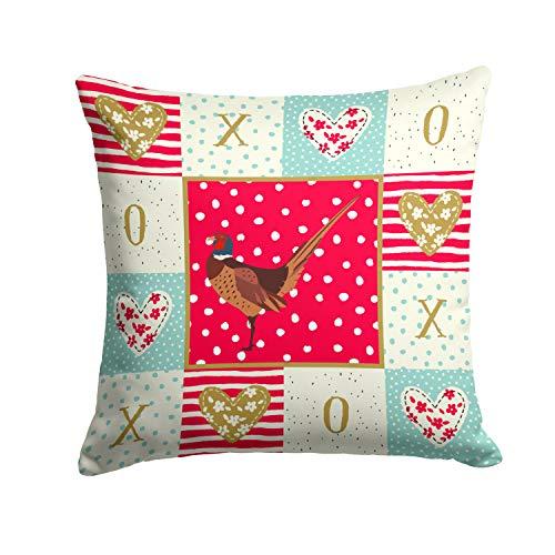 ArtVerse Katelyn Smith 16 x 16 Spun Polyester Illinois Watercolor Pillow
