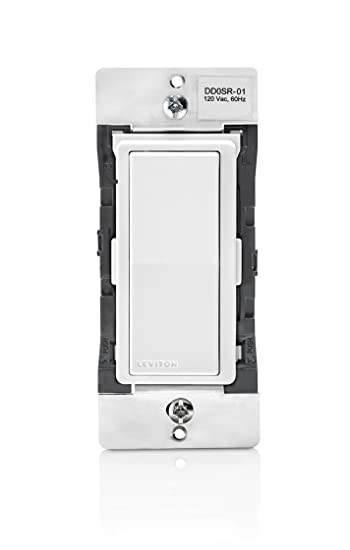 Leviton dd0sr-1z 120 VAC Decora Digital/Decora Smart aufeinander ...