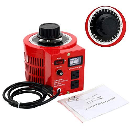 YaeCCC Auto Transformer AC Variable Voltage Regulator Metered (2000W)