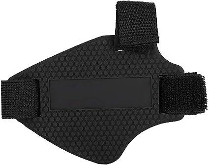 Hlyjoon Caucho Motocicleta Zapatos Botas Protector de Cubierta Protectores de Cambio Protecci/ón de Engranaje Almohadilla de Cambio Almohadilla de Cambio Bota de Zapato Moto Botas Protector