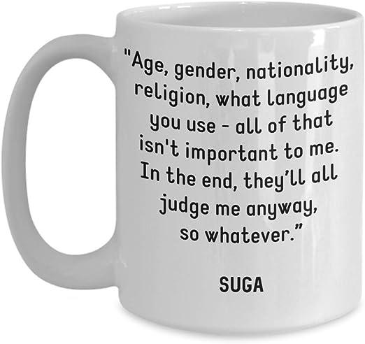 com bts coffee mug suga min yoongi quotes they ll all