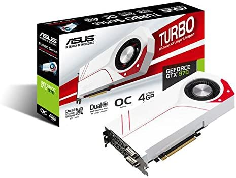 Asus Turbo Gtx970 Oc 4gd5 Nvidia Geforce Gaming Computer Zubehör