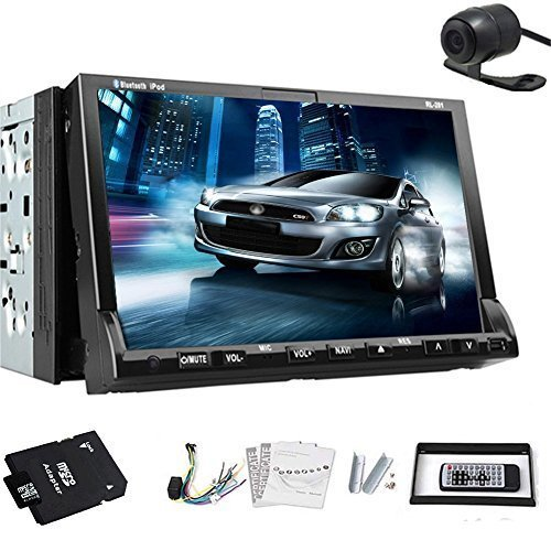 Win 8 Motorized 7-inch Double 2 Din TFT Touch Screen In-dash