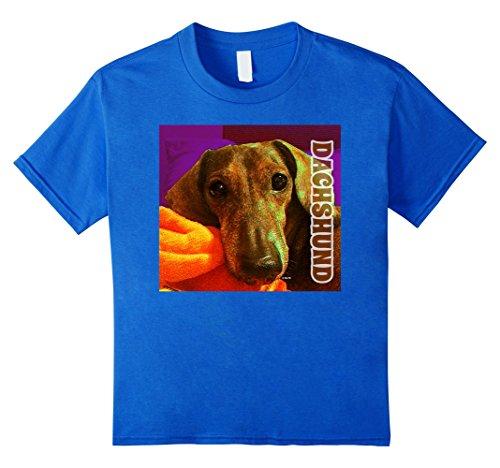 Dachshund-dog-t-shirt-by-No-Limits-T-Shirts