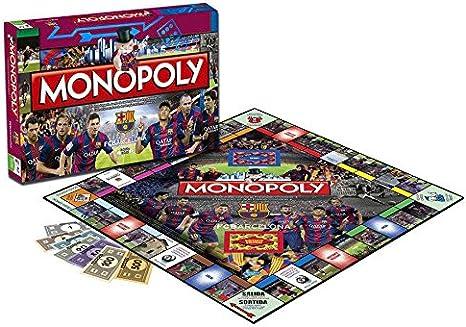 Futbol Club Barcelona-82448 F.C. Barcelona Juego Monopoly 2º edición 82448: Amazon.es: Juguetes y juegos