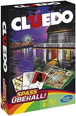 Hasbro Gamings - Cluedo Viaje, Grab & go (versión Alemana): Amazon.es: Juguetes y juegos