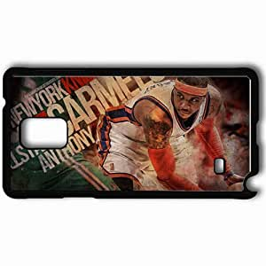 Personalized Samsung Note 4 Cell phone Case/Cover Skin 14729 knicks wp 43 sm Black
