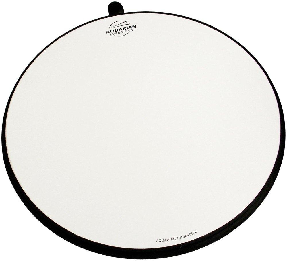 Aquarian Drumheads Super-Pad Low-volume Drum Surface - 10