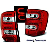 NEW TOP SET TAIL LIGHTS LDCH08 CHRYSLER JEEP GRAND CHEROKEE 1999-05.2005 RED ...