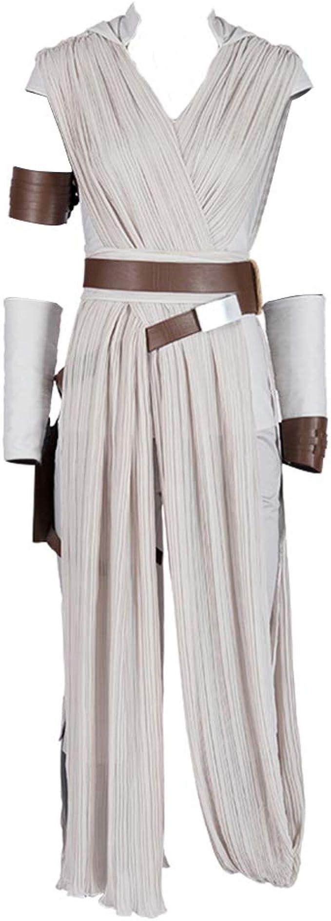 COMShow Star Wars 9 The Rise of Skywalker Rey Disfraz de Cosplay ...