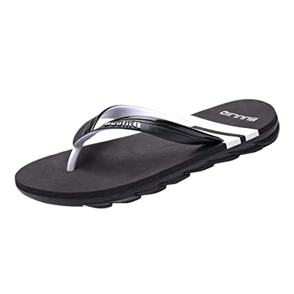b0a11850c207 ❤ Sunbona On Sale Men's Flip-Flops Slippers Summer Casual Outdoor ...