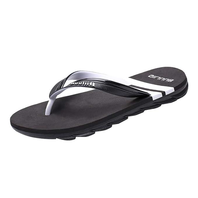 Chanclas Hombre,PANPANY Sandalias Mujer Verano 2019 de Antideslizante Sandal Playa Zapatos de Marea Zapatillas Casual de Aire Libre Shoes: Amazon.es: Ropa y ...