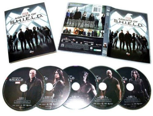 Marvel agents of shield season 3 (DVD, 2016, 5-disc)