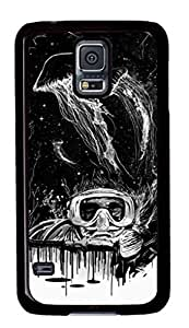 Hard Snap On Case with Abstract Painting The House of Vines Printed Back Protective Case Cover for Samsung Galaxy S5 by heywan