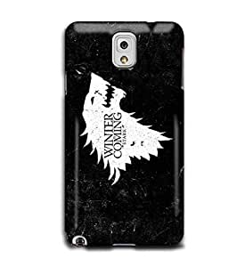Tomhousomick Custom Design A Song Of Ice And Fire : Game of Thrones Case Cover for Samsung Galaxy Note 3 N9000 2015 Hot New Style