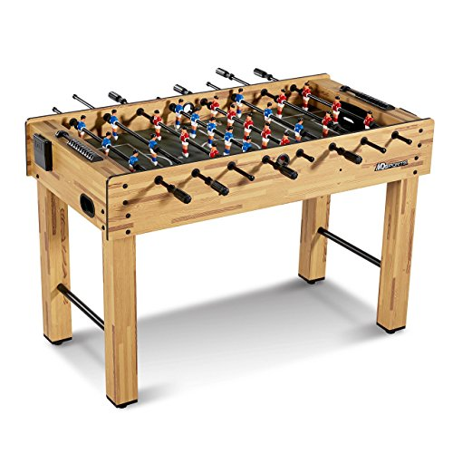 Cheapest Price! MD Sports SOC048_047M Foosball Table, Light Wood, 48