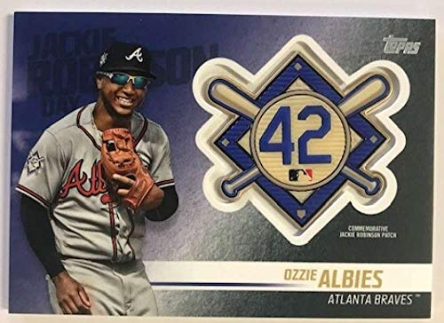 2018 Topps Update Jackie Robinson Day Manufactured for sale  Delivered anywhere in USA