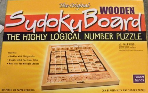 Smart Minds The Original Wooden Sudoku Board by Smart Minds