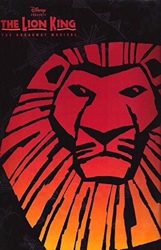 "Elton John ""THE LION KING"" Heather Headley / Julie Taymor 1997 Souvenir Program"