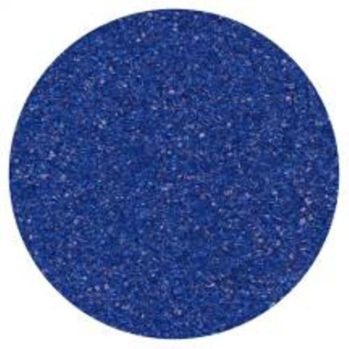 Sugar Crystals Edible Sprinkles - Dress My Cupcake DMC26975 Decorating Sanding Sugar for Cakes, 4-Ounce, Royal Blue