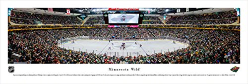 Minnesota Wild - Center Ice - Blakeway Panoramas Unframed NHL Posters ()