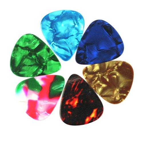 - 144 X Acoustic Electric Bulk Guitar Picks Plectrum Assorted Colors Mixed Size