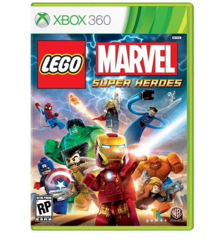 LEGO Marvel Super Heroes (Microsoft Xbox 360, 2013) New by Salman Store