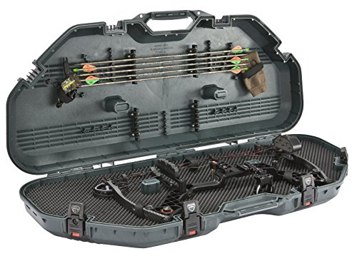 (Plano All Weather Series Bow Case, Green, Small)