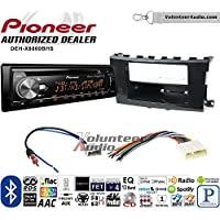 Volunteer Audio Pioneer DEH-X8800BHS Double Din Radio Install Kit with Bluetooth, HD Radio, Siruis XM Ready, USB/AUX Fits 2013-2015 Nissan Altima