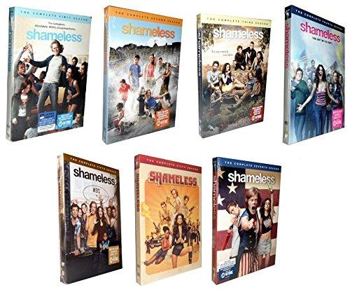 Shameless Complete Series All Season 1-7 DVD (Orange Is The New Black Box Set)