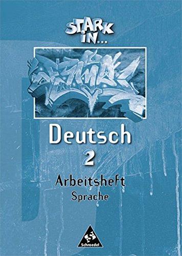 Read Online Stark in . . . Deutsch, neue Rechtschreibung, Arbeitsheft Sprache, Lernstufe 7 und 8 pdf epub