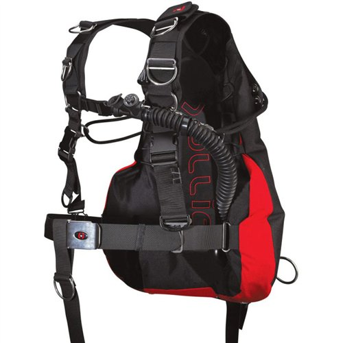 Hollis SMS75 Sidemount Harness BCD (SM/MD)