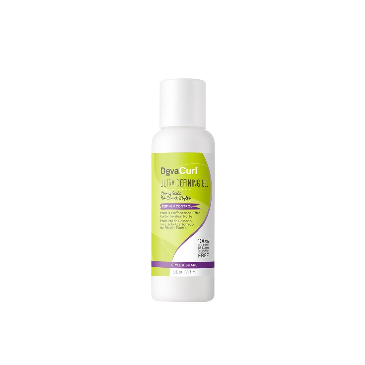 DevaCurl Ultra Defining Gel, 3 Fluid Ounce