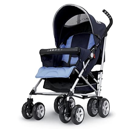 Zooper Hula Stroller Navy (Discontinued by Manufacturer)