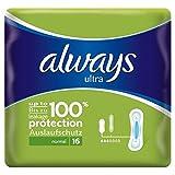 Always Ultra Normal Sanitary Towels 16 per pack (PACK OF 6)
