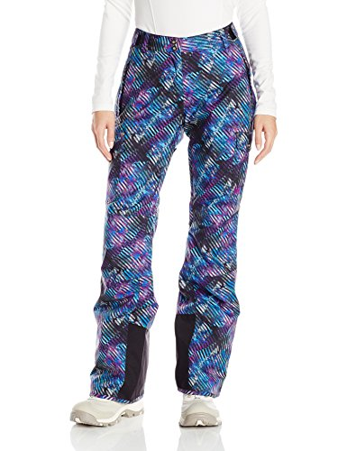 Helly Hansen Women's Switch Insulated Cargo Pants, Black/Performance Stripe, Medium
