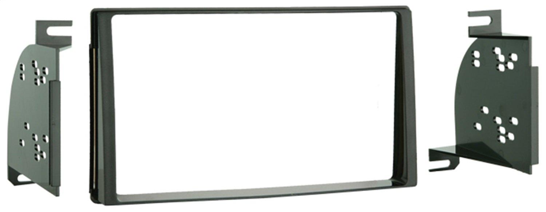 Metra 95-7323 Double DIN Installation Kit for 2006-up Kia Sedona/Hyundai Entourage Vehicles (Black)