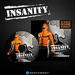 INSANITY Fast & Furious: 20 Minute Maximum Fitness Results Workout DVD from Beachbody