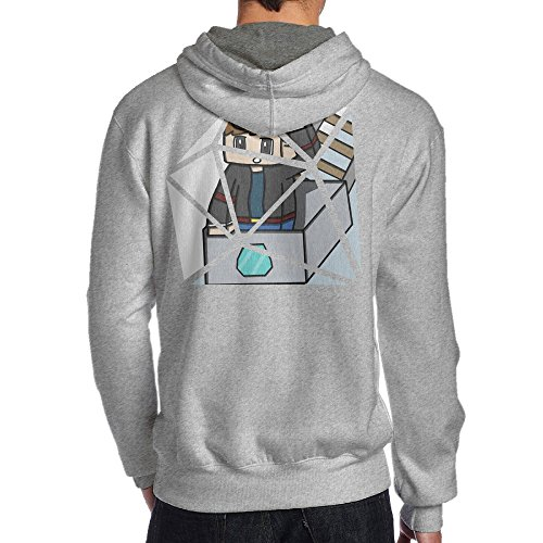 Show Time Men's Diamond TDM Game Geek Hoodie Ash S